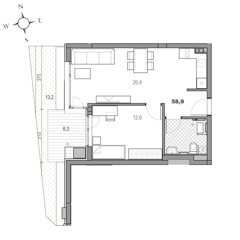 Апартамент 01